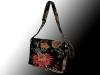 Wizard of Oz lining, messenger bag, handmade, Nanaimo, BC, Pip 'n' Milly