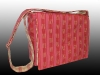 pretty in pink messenger bag, handmade, Nanaimo, BC, Pip 'n' Milly