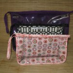 Knitting project bags in three sizes