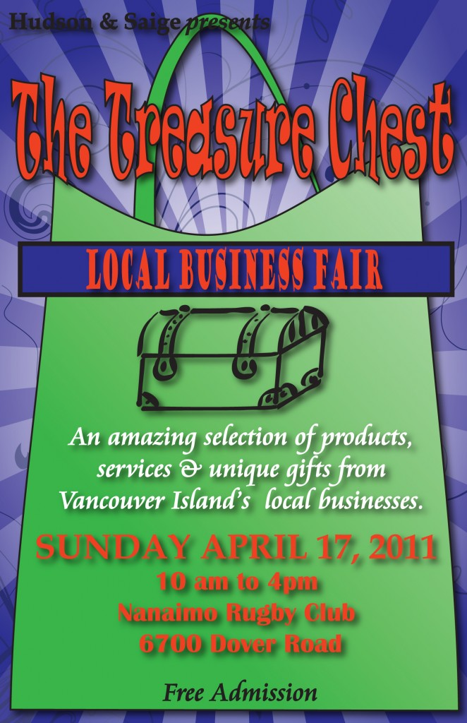Treasure Chest local business event