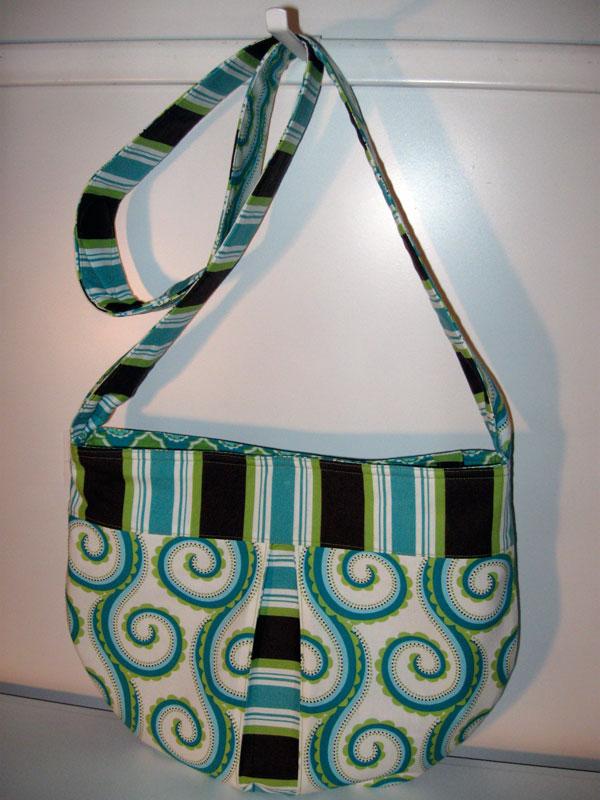 Pleated panel bag