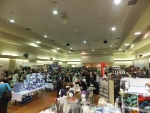 Vancouver fibre festival, marketplace