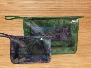 Small and large special order project bags